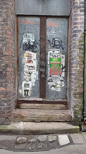 Liverpool Doorway Doors Graffiti Simon Cowell