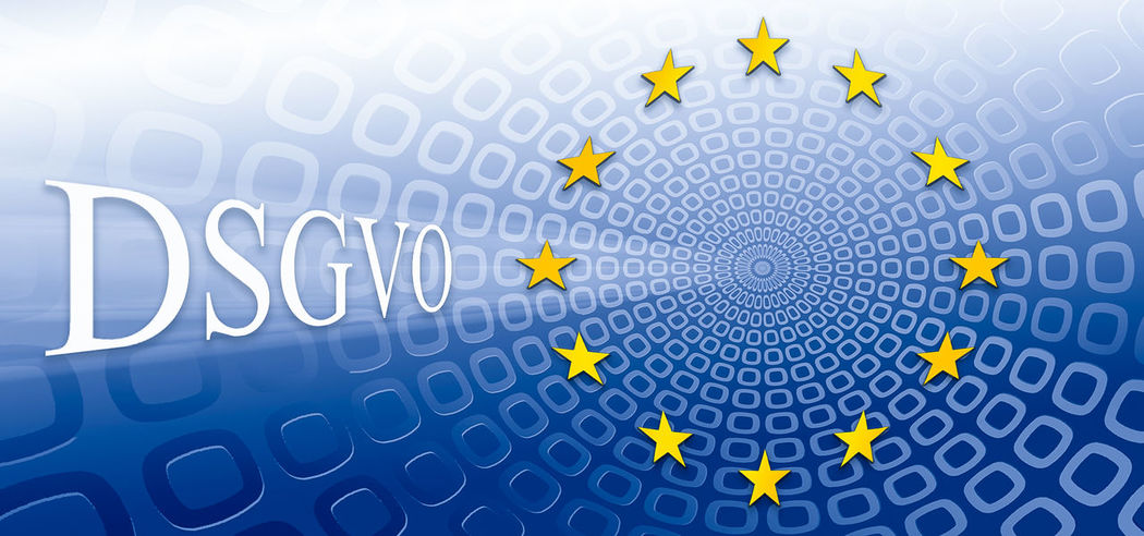 Europa Datenschutz Gesetz Sterne  Text Webseite Blau Dsgvo Eu Europe Gelb Privacy Webdesign Binary Code Big Data Symbol Information