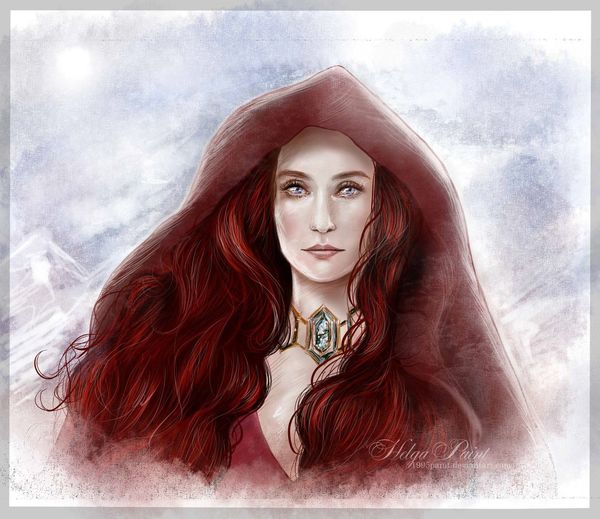 1995paint 2017 BlueEyes Game Of Thrones HelgaPaint Melisandra Paint Woman Long Hair One Person Portrait Red Redhair Redwoman Woman Portrait