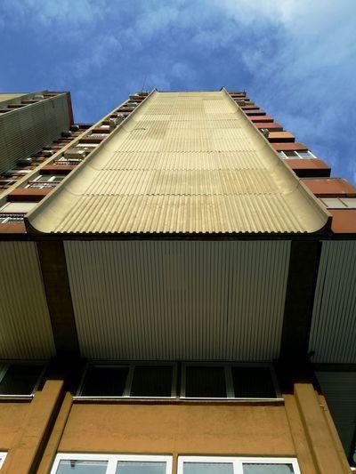 View Vertical Building Belgrade Serbia Classic Communism Socialism Architecture Likeforlike Like4like Contrast Old City Sky Architecture Building Exterior Built Structure