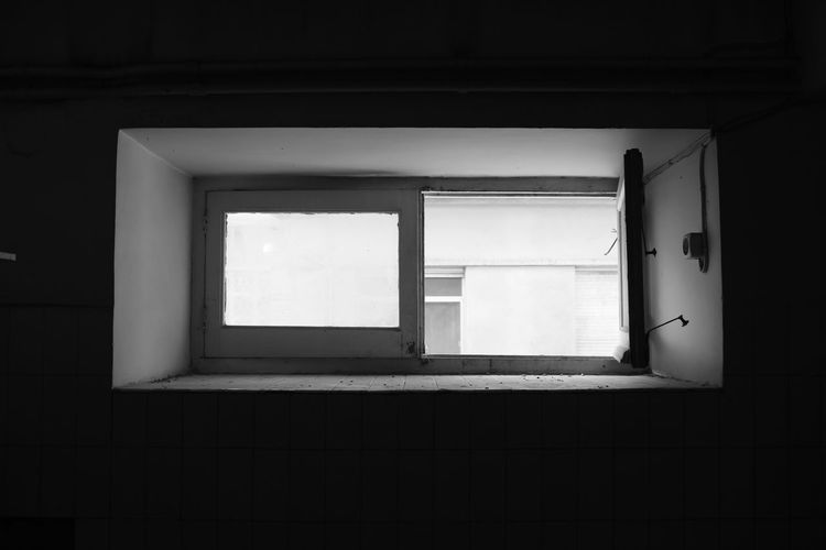Loneliness Lonely Abandoned Absence Architecture Black And White Blackandwhite Building Built Structure Day Domestic Room Glass - Material House Indoors  Nature No People Old Open Shadow Sunlight Wall - Building Feature Window