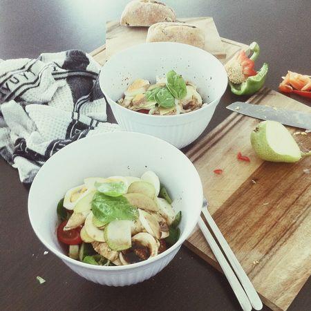 Summer Salad Time. Food Porn