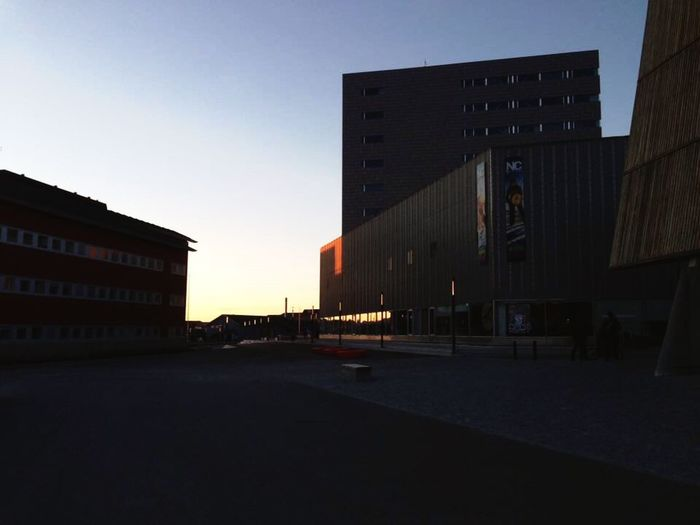 Sunset Afternoon Walk Sundown Sun Light Afternoon Check This Out Arkitecture_details Arkitektur Arkitecture_art Architecture Building Exterior Built Structure Sky City Building Road Nature Street No People City Life Outdoors Direction Clear Sky