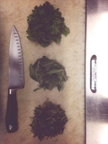 Herbs Cooking Knife Skills
