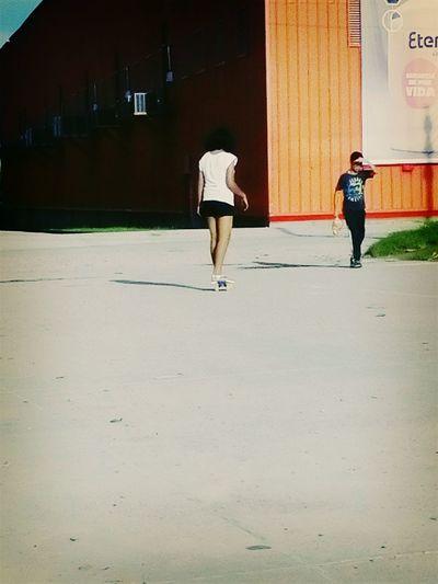 Human Body Part Day Only Women People Women Real People Cloud - Sky Sunlight Skater Girl Skateboard Skatelife Skate♥
