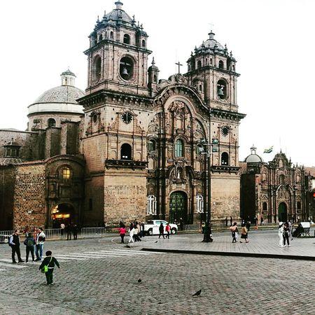 Cusco Cusco, Peru Inka Plaza Templo Temple Religious  Religion People Architecture History Tourism Vacations City Travel Destinations Statue Sculpture