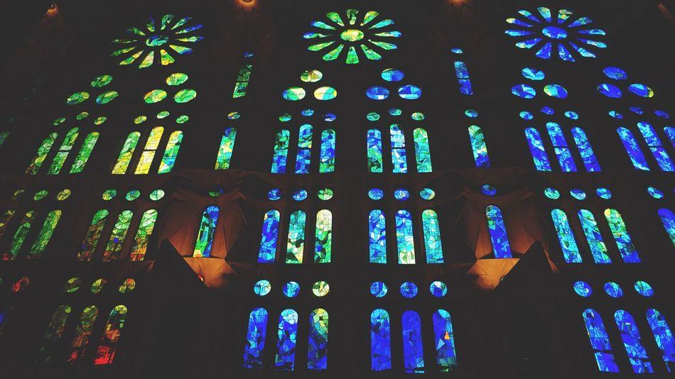 La Sagrada Familia,Barcelona