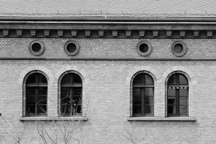 Frankfurt Am Main Gutleutviertel No People Building City Architecture Blackandwhite Architectural Detail Monochrome Architecture_bw Bw Black & White Black And White Streetphoto_bw