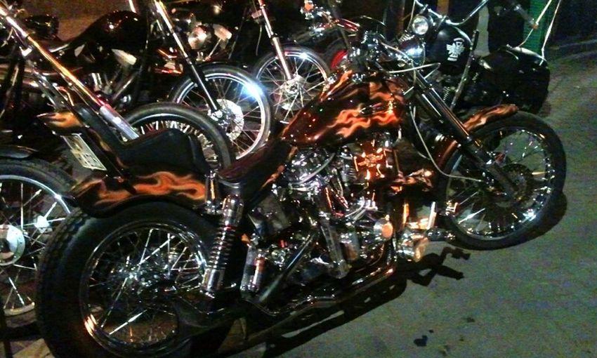 Art Driving Freedom Cool Bike Harley Davidson Born To Be Wild Vehicle BTBW Mc Berlin