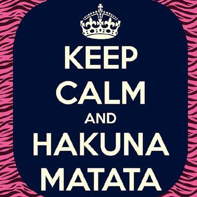 Hakuna -matata No_worries Quote Words life african yolo