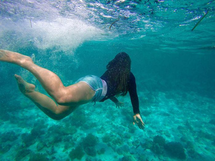 Swim  as you desire