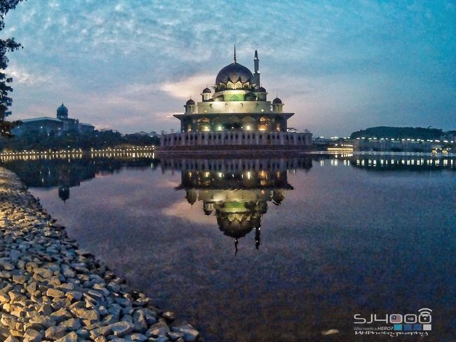 Masjid Putra,Putrajaya Hello World Taking Photos Sjcam4000wifi Sjcammalaysia Malaysia