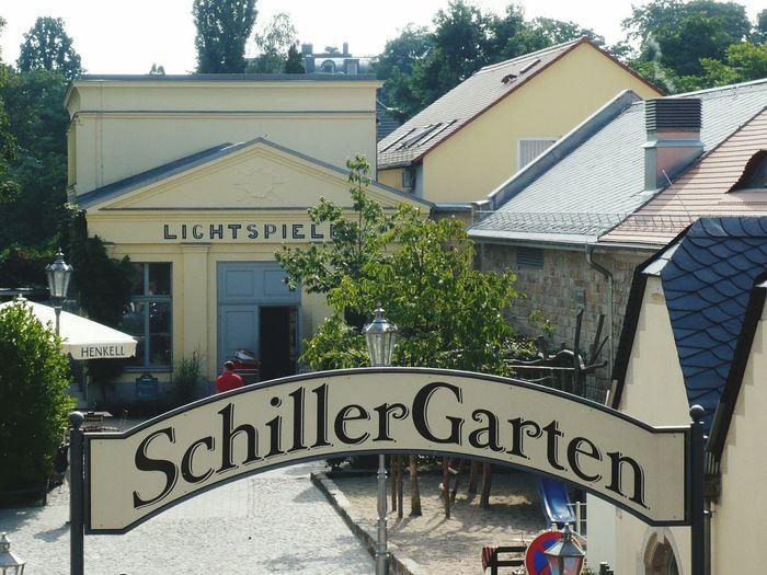 Dresdner Schillergarten Dresden Biergarten Am Blauen Wunder