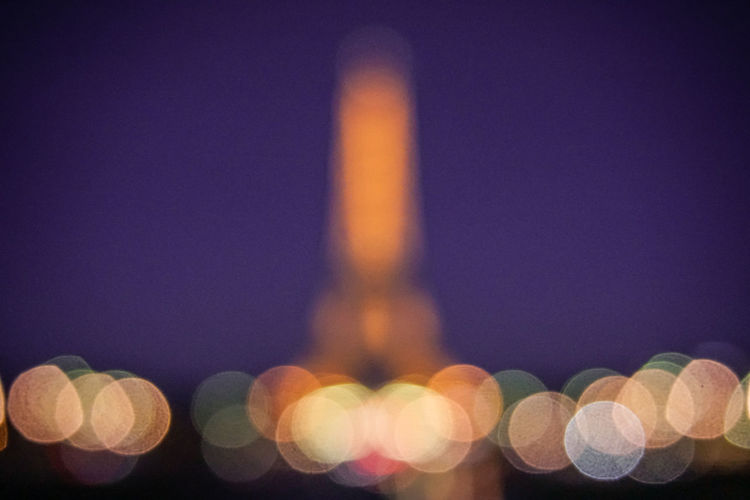 Eiffel Tower Mood Bestpic Greatest_shots Travel Photography France🇫🇷 Europe Trip City Life City Night Architecture Bokeh Bokeh Lights Illuminated Defocused Outdoors Travel Destinations Europe Outdoor Travelphotography A6000xSamyang85 Eiffel by Chualkak in Paris, France