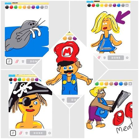 Once upon a time I was Procrastinating on DrawSomething
