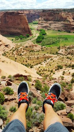 Thats me sitting on the edge of canyon. Hiking❤ That's Me Risktaker At The Edge Of The World Don't Jump Nature On Your Doorstep Canyondechelly Enjoying The Sun Excercising Enjoying Life