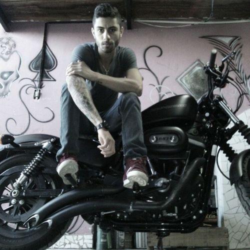 Harleydavidson883iron Tattoo Tatuagem Rock
