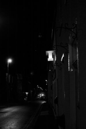 Night Road Tennents Tennent's Pub Huntly Blackandwhite Building Exterior Black And White The Street Photographer - 2017 EyeEm Awards