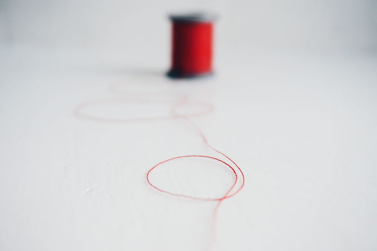 Red Indoors  Close-up Day No People Creativity White Spool Studio Shot White Background Spools Of Thread Thread Spool Threads Thread White Color Red Color Details Close Up DIY Diy Project Handmade Detail Indoors  Wooden Thread Spool Red
