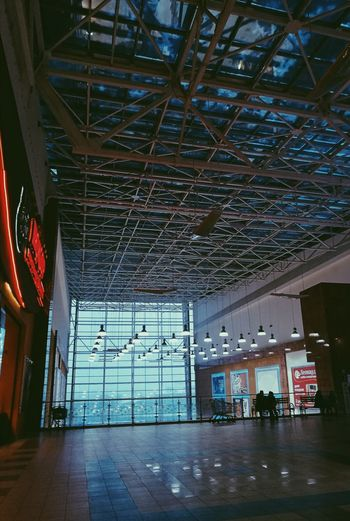EyeEm Best Shots EyeEm Gallery HuaweiP9 Huaweiphotography Huawei P9 Leica Mobilephotography People Nightphotography Moscow Urban Light And Shadow Interior Design Lines Detail Colors Cinematic Indoors  Shopping Mall Couple Two People People Lighting Equipment Ceiling Modern Light Indoors  Architecture Day Built Structure No People The Graphic City EyeEmNewHere