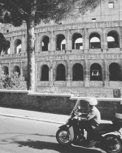 Photospam Travel Photography Rome Italy Colosseum Blackandwhite Mobilephotography