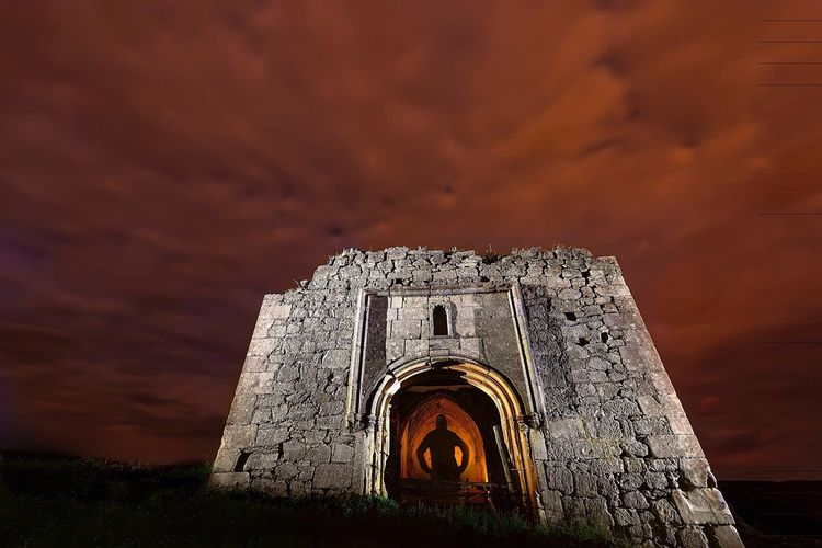 Sombra en la ermita Architecture Sky Built Structure Old Ruin Building Exterior Religion Ancient Outdoors Cloud - Sky Medieval Abandoned Cloudy Dramatic Sky Night Photography Architecture Cloudy Sky Night Spirituality Catolic Church Religious Architecture Arch Church Cloud Nightphotography Shadows & Lights
