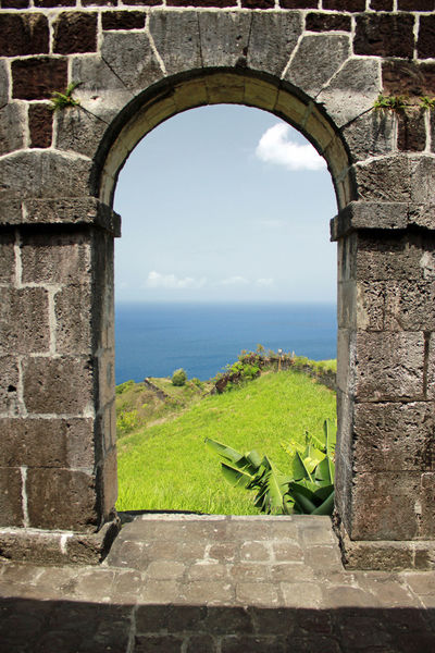 Old Fort Arch Architecture Caribbean Island Caribbean Sea Forts Old Buildings St. Kitts Structures Travel Destinations Vacations