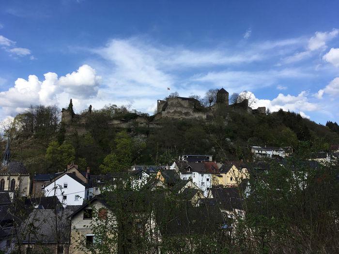 Westerwald Ruins Castle Rhineland