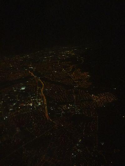 Flying Dublin, Ireland Airoplane Airport Birdseyeview