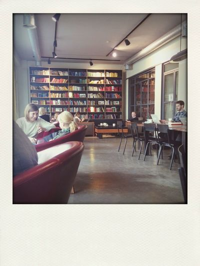 Like to be here. New look. More space. Cappucino
