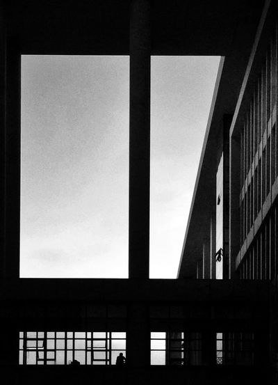 Enjoying Life Relaxing School Light And Shadow Black And White Guangzhou University Architecture Geometric Shapes Urban Geometry IPhoneography