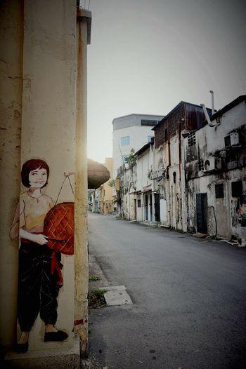 Malaysia Ipoh Streetphotography Streetart Nightfall