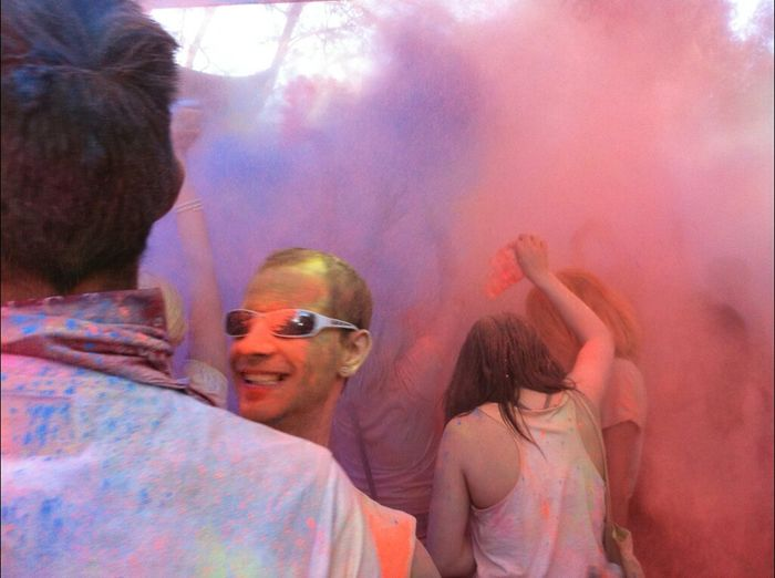 Colors Techno Holi Festival Brandenburgallstars
