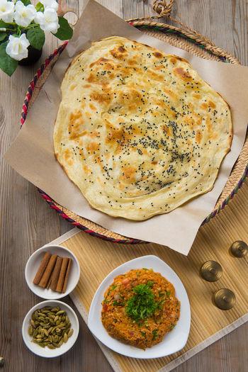 arabic bread Bread & Butter Arab Arab Foods Biryani Rice Food