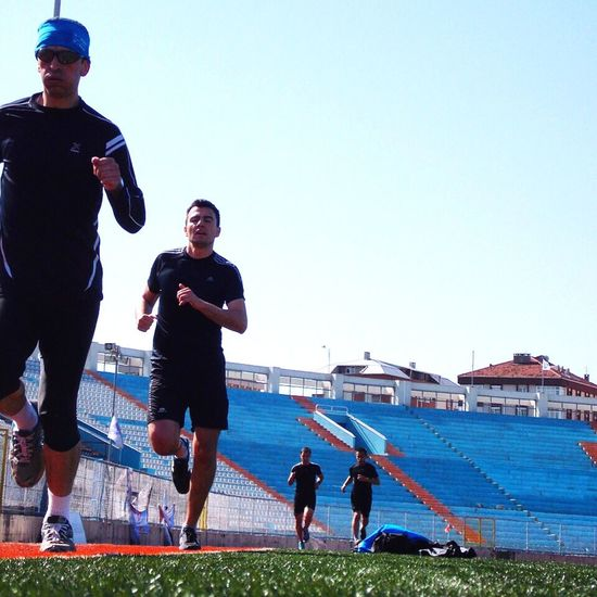 Running Tempo Workour Sixpack Istanbul