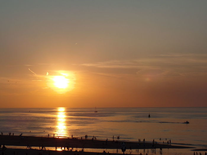 Sunset Sun Beach Sea Reflection Beauty In Nature Horizon Over Water Water Nature Sky Taking Photos Enjoying Life Summer Hello World Scheveningen  Enjoying The View Seaside Relaxing Colours Of Summer Silhouette Tranquility Vacations Dramatic Sky Tranquil Scene Landscape