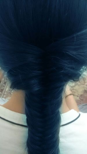 Myhair Hairbraid Blue Notreal