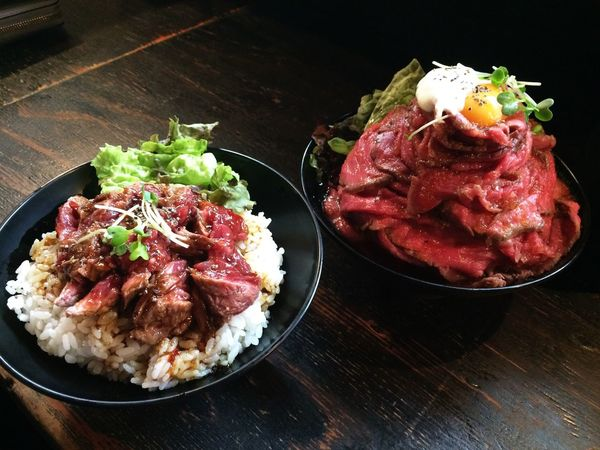 Beaf Check This Out Donburi Yammy!!  Kobe