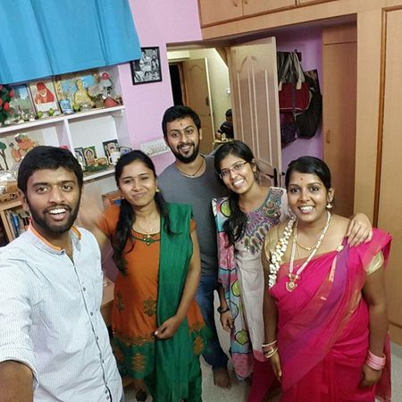 Weekend Pooja Godliness Bliss Charming Selfiestick Hardbutton :p