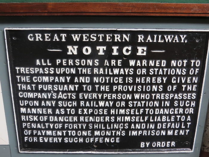Old Great Western Railway sign Close-up Communication Great Western Railway No People Old Railway Signs Sign Text