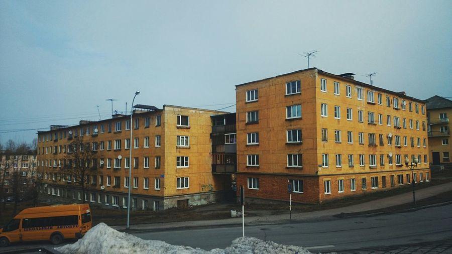 Fantastic Relaxing Road ... Photo Hi! Karelia Perfect Hometown Old Buildings