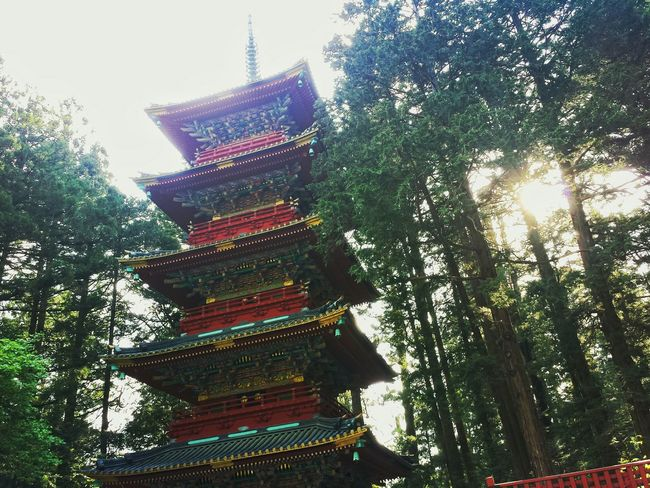 five-storey pagoda || Temple Hopping Nature Against The Light Mountains Travels Travel Traveling Explore Nippon Look Up
