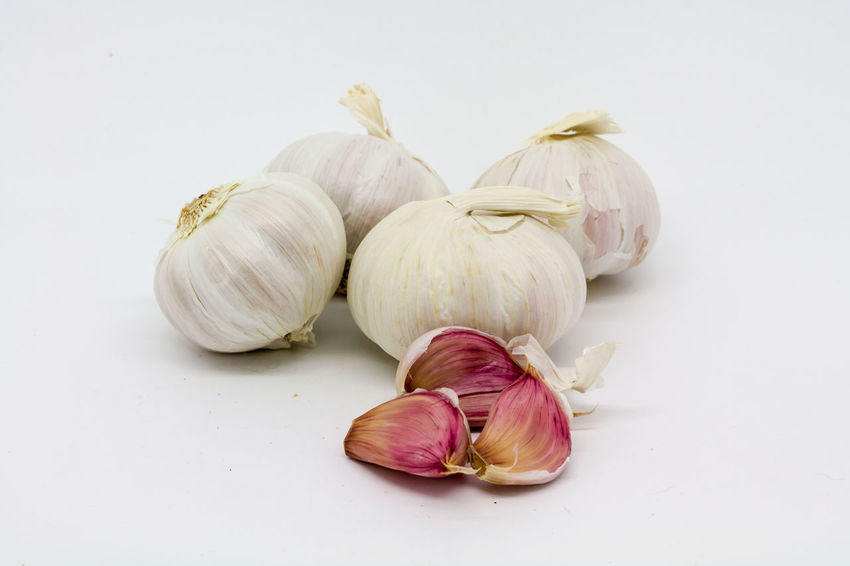 Garlic Arrangement Bulbs Close-up Cloves Cooking Food Freshness Garlic Garlic Garlic Bulbs Garlic Cloves Group Of Objects Isolated No People Organic Raw Food Spices Still Life Studio Shot White Background Whole