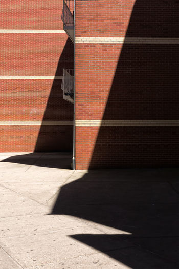 I love to use shadow as an important part of the composition. Building Exterior Contrasts Crosswalk Day Exterior Focus On Shadow No People Outdoors Red Shadow Sunlight