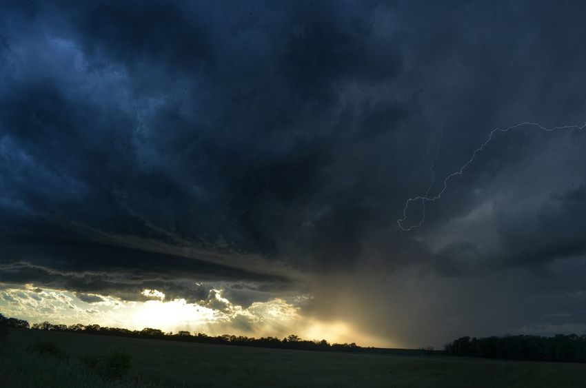 Got very lucky and captured two daytime (basically sunset) lightning shots on my no radar or map chase in North Central Minnesota. Well worth five hours of driving! Cloudporn Minnesota Nature Lightning