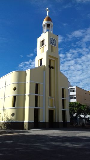 Architecture Building Exterior Built Structure No People Religion Outdoors Day Sky Igreja Brazil
