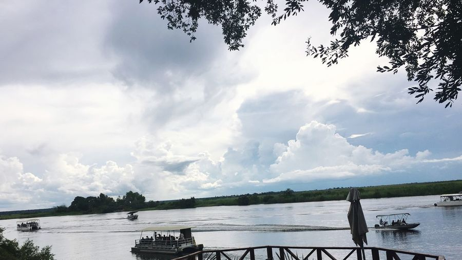 Beauty In Nature Water Chobe River Cloud - Sky
