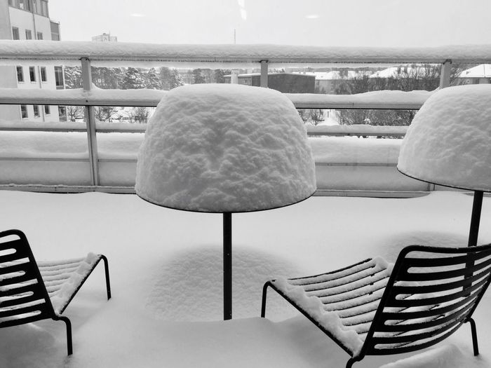 Snow ❄ Storm Snow Covered Snow Storm Snow Storm 2016 Caffè Cafe Chair Chairs And Tables Chairs White Snow White Sky Black & White Black And White