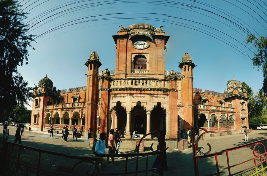 Architecture History Outdoors Clock Tower City Travel Destinations Sky Day Fisheye India Cool Smartphonephotography Oneplus X MyClick Onepluslife