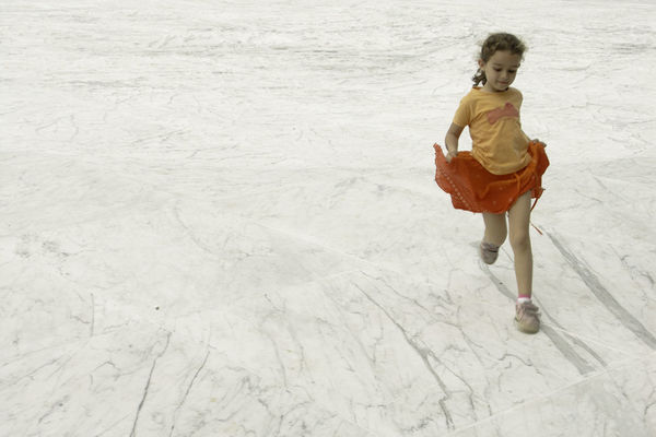 Running on a marble pavement Marble Kid Youth Daughter On White Innocence EyeEm Best Shots EyeEm Gallery EyeEm EyeEmBestPics EyeEm Masterclass